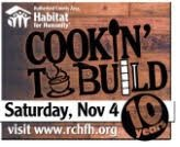 COOKIN' TO BUILD for Rutherford County Habitat for Humanity