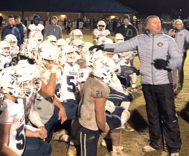 Siegel Football Coach Resigns