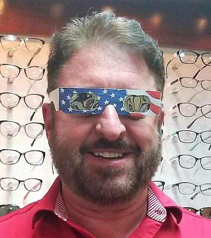 Are You Ready For Monday's Eclipse? | Dr, Craig McCabe, total solar eclipse, wear protective glasses, WGNS