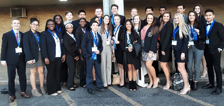 Congratulations OHS DECA Students