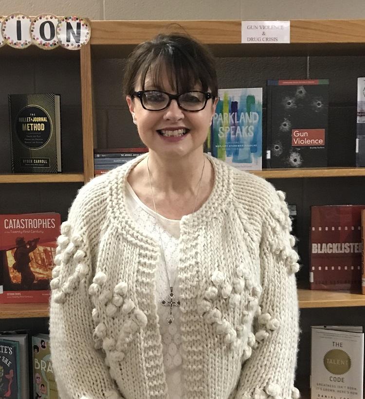 Siegel High Librarian & Media Specialist Debbie Butler