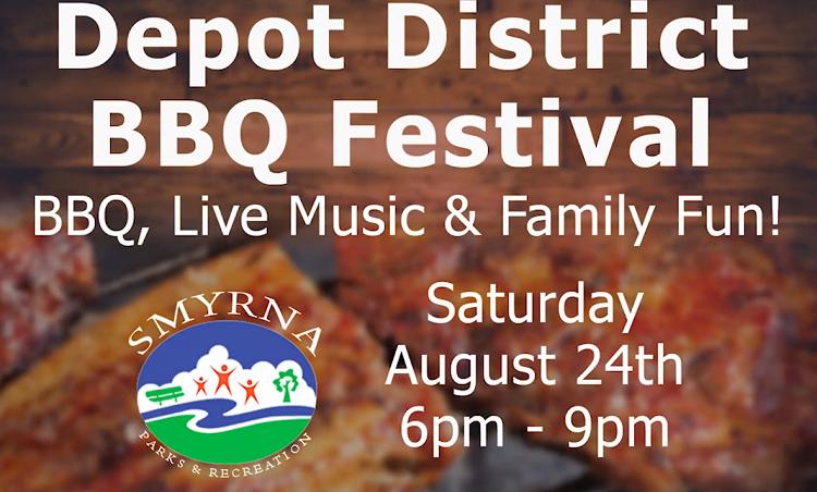 Depot District BBQ Festival in Smyrna