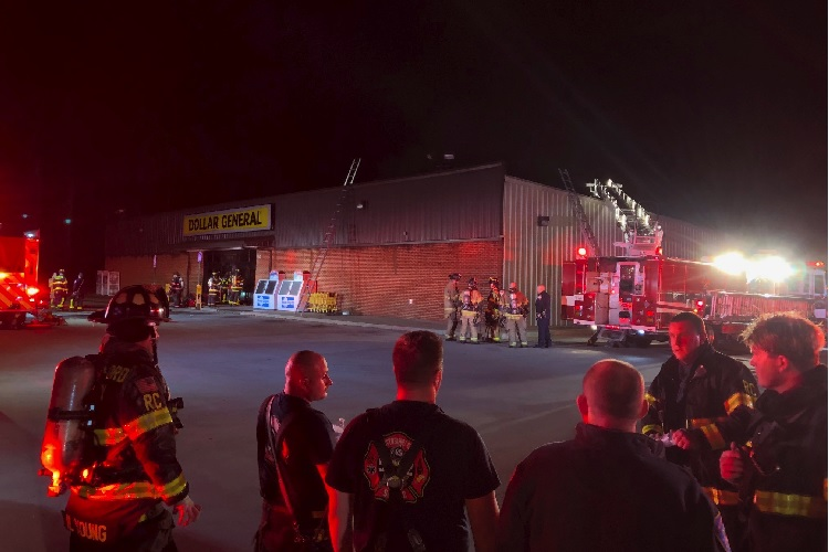 Chrstiana Dollar General Closed By Fire