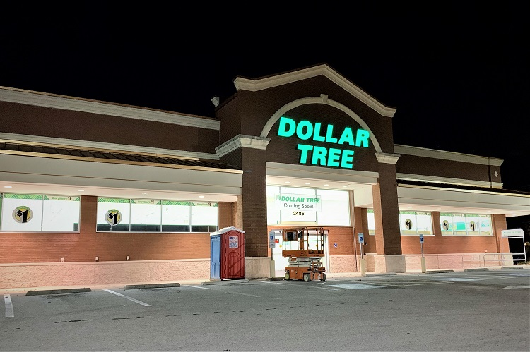 New DOLLAR TREE Opening Soon On Memorial