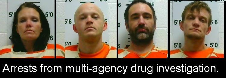 4 Drug Arrests In Neighboring DeKalb County