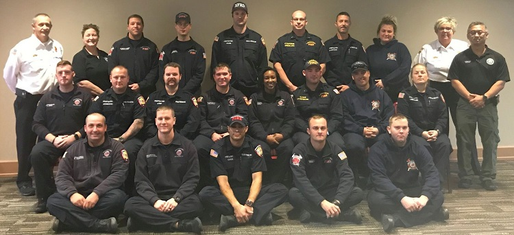 MFRD and LVFRD Personnel Complete Second In-House Motlow State EMT Class