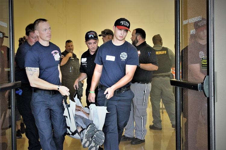 Emergency Responders Trained To Handle Active Shooters
