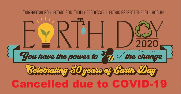 COVID-19 Shuts-Down EARTH DAY on April 25