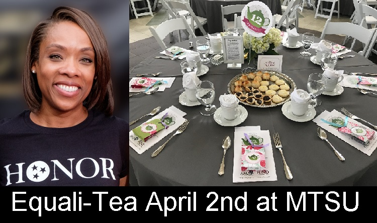 April 2nd Equali-Tea on