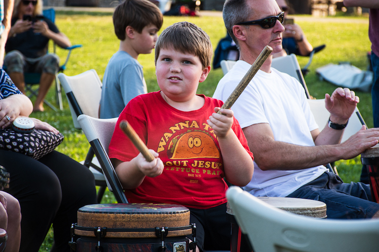 Everybody Drum Some Presents Next Community Rhythm Event on Sept. 22