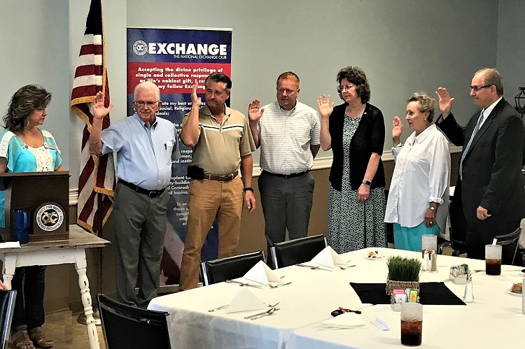 Melissa Wright New President of Exchange Club of Murfreesboro