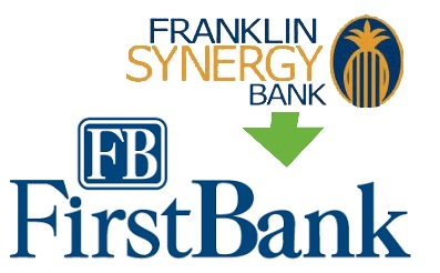 FIrstBank Is Acquiring Franklin Synergy Bank   FirstBank, acquiring Franklin Synergy, enlarge, Nashville, Williamson, Rutherford, WGNS