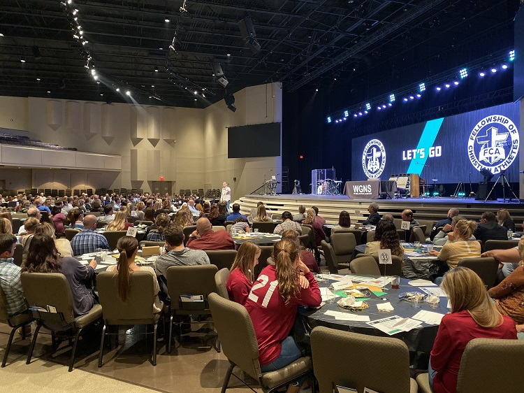 The Fellowship of Christian Athletes held their annual Night of Impact. It was Sunday at New Vision Church on Thompson Lane.