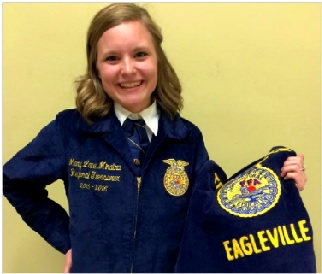 Eagleville's Mary Lane Minatra Honored by FFA