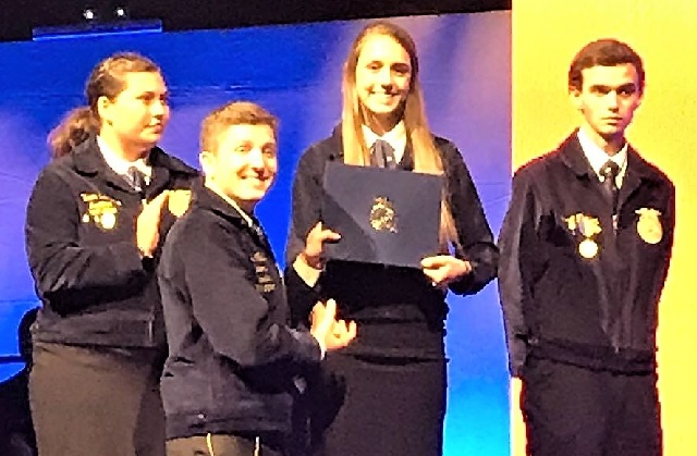 Congratulations Oakland High's Kaitlin Taylor