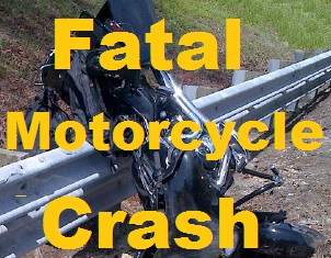 Fatal Saturday Morning Motorcycle Crash