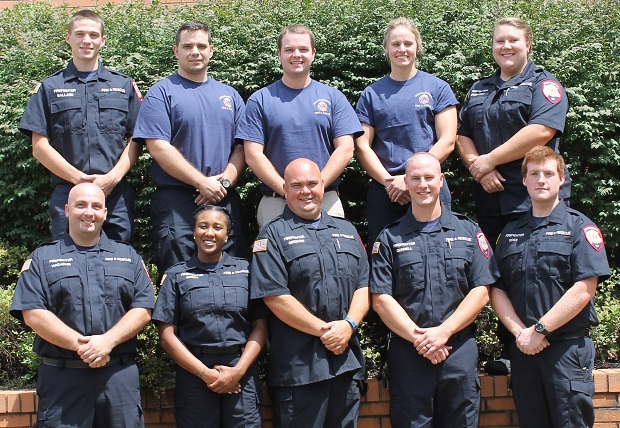 MFRD Welcome 10 New Recruits (Fire Trainees)