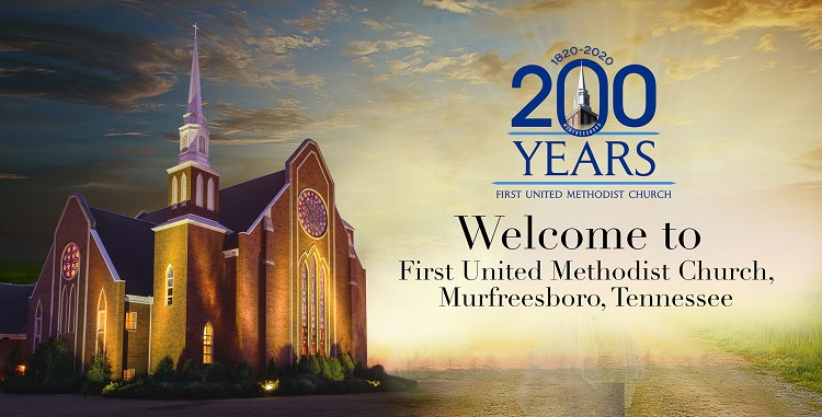 1st Methodist Begins 200th Anniversary Celebration | bicentennial, First United Methodist Church, Rev. Dr. Drew Shelley, Murfreesboro, WGNS