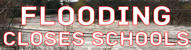 Flooding Closes Roads