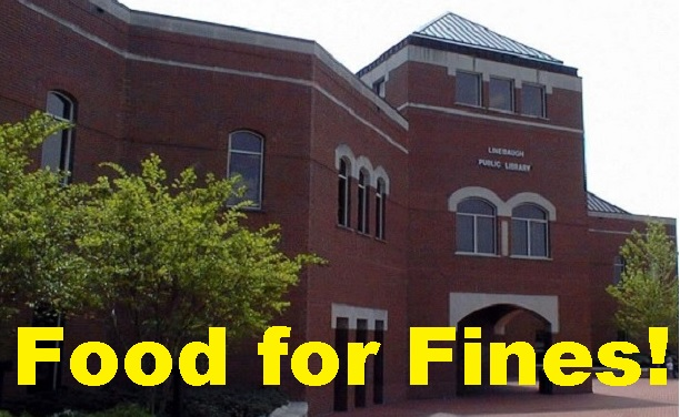 Eliminate Library Fines, Donate Canned Food!