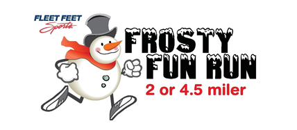9th Frosty Fun Run Slated