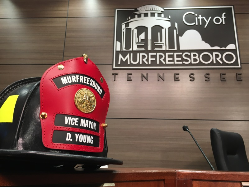 City Council Honors Vice Mayor Doug Young and Discusses Council Vacancies | Murfreesboro, Murfreesboro City Council, Doug Young, Council Vacancy, Special Election