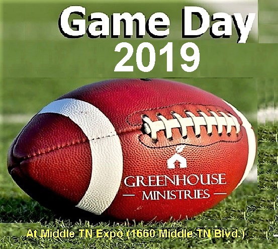 Greenhouse Ministries' GAME DAY Sept. 9, 2019