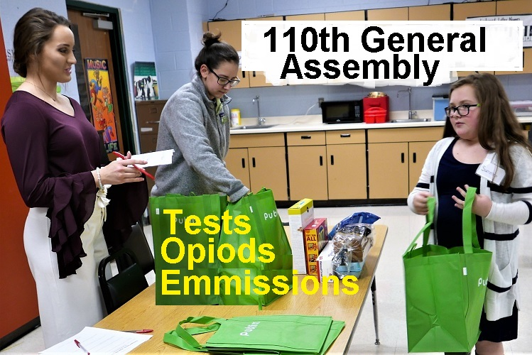 110th General Assembly Issues