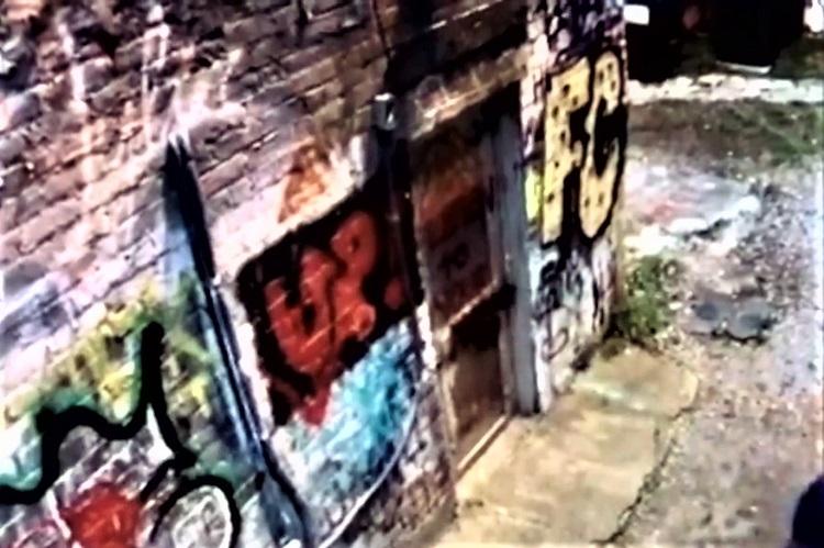 Graffiti Vandals Caught--Agree To Repaint Wall