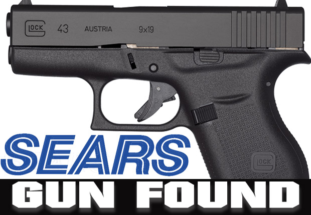 Gun Found in Sears' Dressing Room