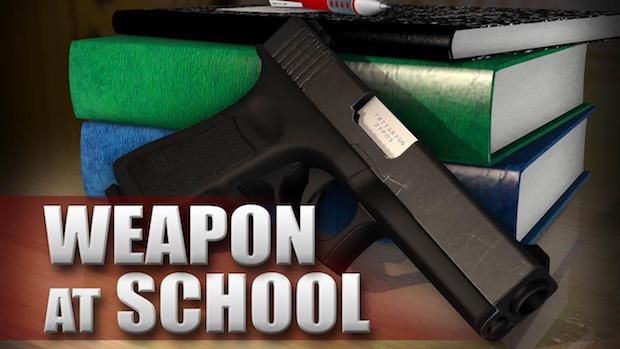 Student with Loaded Gun at Siegel High School