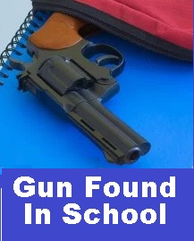 Gun Found In 8th Grader's Backpack