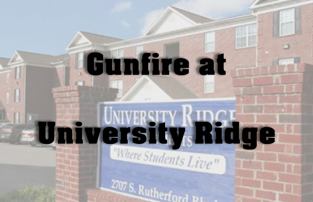 Gunfire Wounds Two Victims Near University Ridge