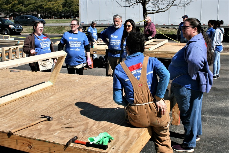 Habitat's International Women Build
