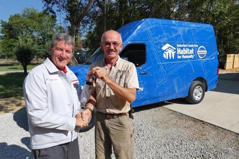 Nissan Grants Local Habitat $96K and Starts Build!
