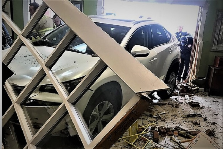 Customer Crashes Into Hair Productions