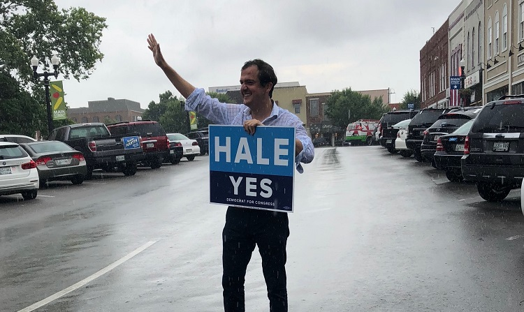 Hale Launches Volunteer Effort in Bid for Congress