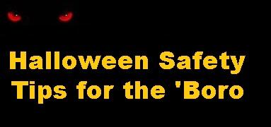 Thursday Is Halloween--Here Are SAFETY TIPS!