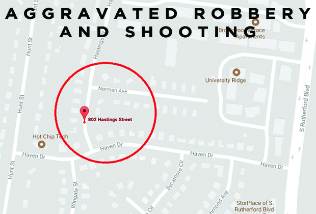 Man Shot & Robbed on Hastings Street