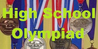 Congratulations CMS High School Regional Science Olympiad Award