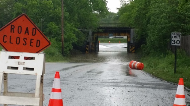 Heavy Rain Creates Ruth. Co. Flooding