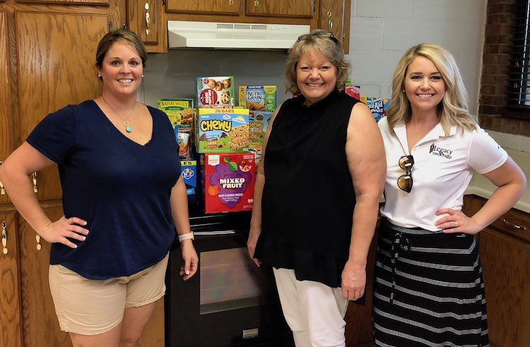 Junior League of Murfreesboro Supports Child Abuse Victims with Snack Drive