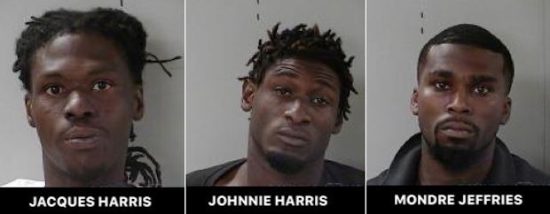 Aggravated Assault With Gun Leads to Three Arrests