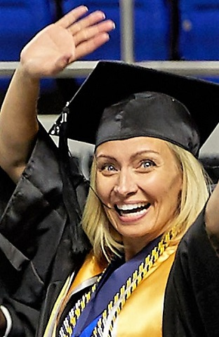 MTSU Alum Builds New Life With Degree