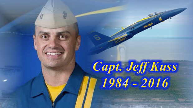 Town of Smyrna to Announce Permanent Honor for Fallen Blue Angels Pilot