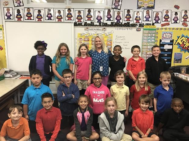 Jennifer Monroe, 3rd Grade Teacher, Mitchell-Neilson Elementary
