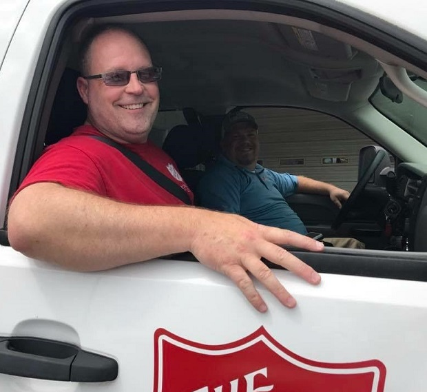 Local Salvation Army Major on the Ground in Flood Ravaged Texas