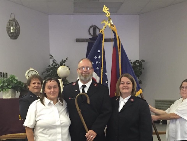 Meet the New Salvation Army Officers