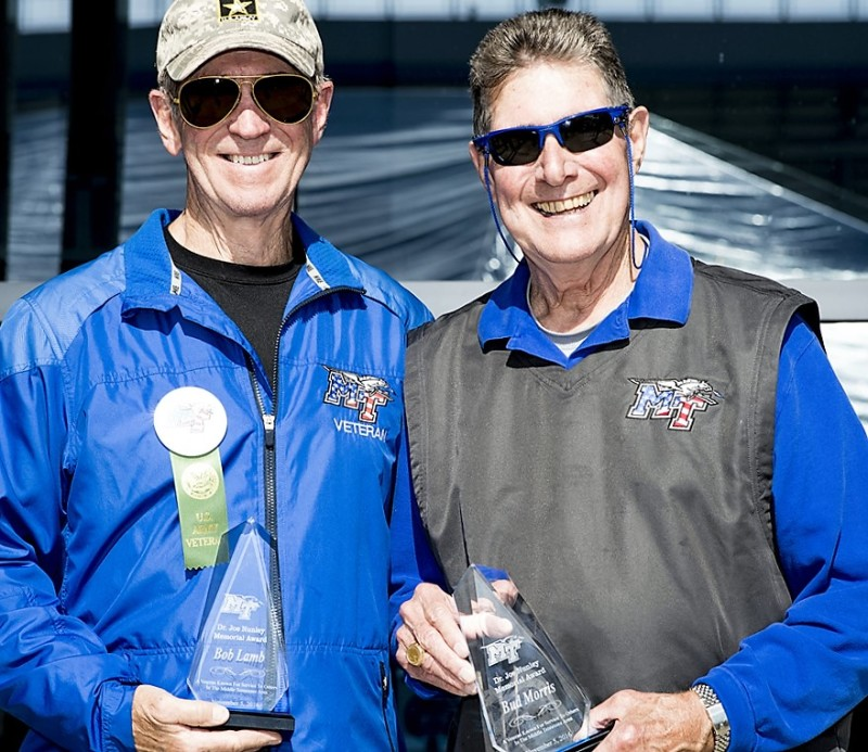 Bob Lamb and Bud Morris Receive MTSU's Joe Nunley Award