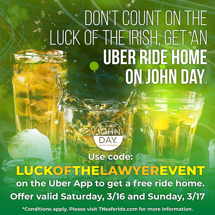 Free Rides for St. Patrick's Day